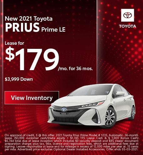 April | 2021 Prius