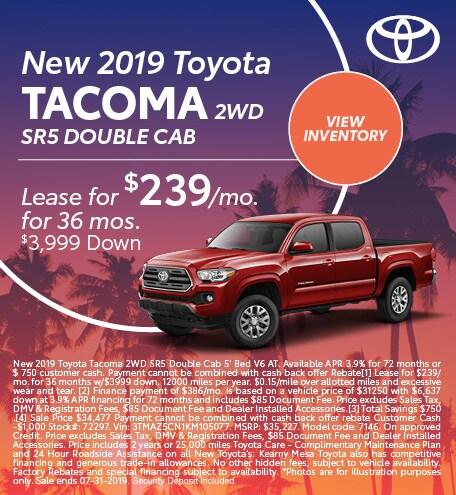 2019 - Tacoma - July