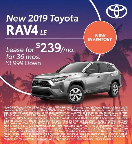 2019 - RAV4 - July