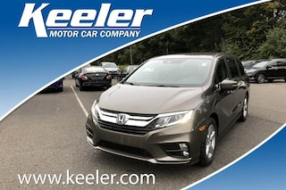 New 2019 Honda Odyssey EX Minivan/Van 5FNRL6H52KB055376 for sale in Latham, NY at Keeler Honda