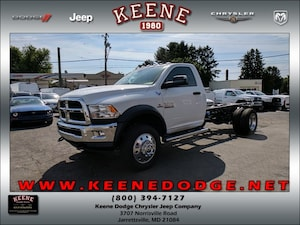 2017 Ram 4500 TRADESMAN CHASSIS REGULAR CAB 4X4 168.5 WB Regular Cab