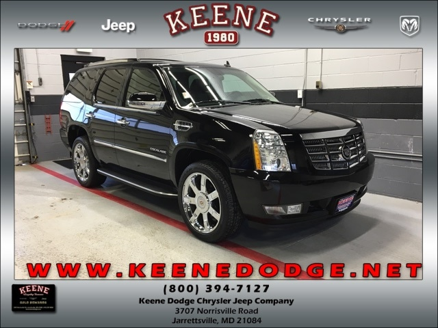Used 2010 CADILLAC ESCALADE Luxury SUV For Sale In Jarrettsville, MD