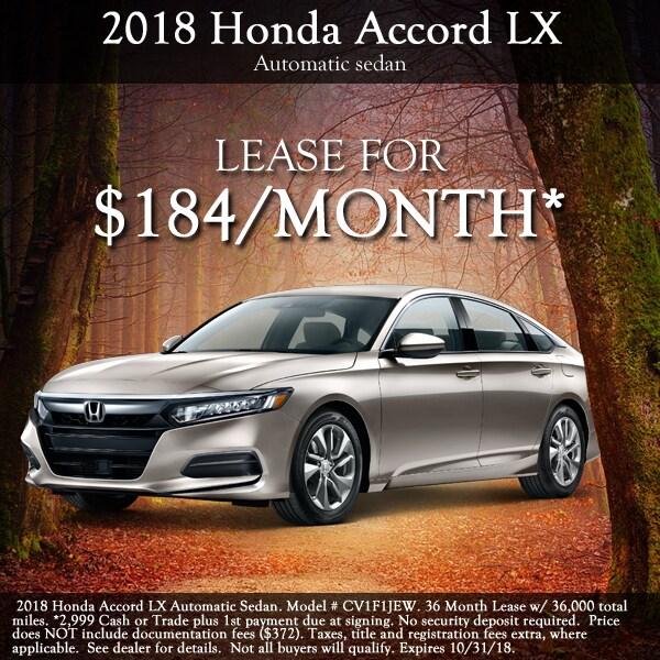 2018 Honda Accord ...