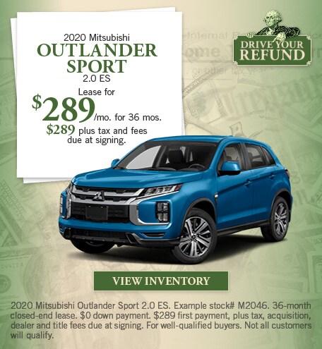 Mitsubishi Outlander Sport 2.0 ES Special Offer