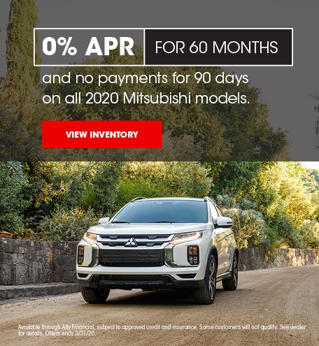 Mitsubishi Financing & Deferred Payments Offer
