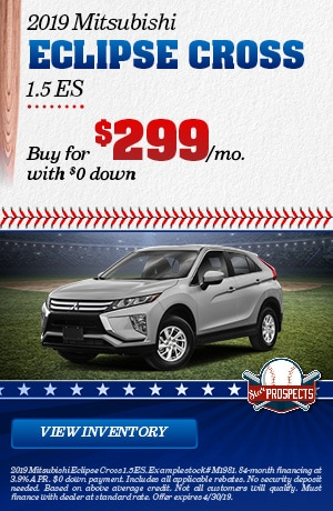 Mitsubishi Eclipse Cross 1.5 ES Special Offer
