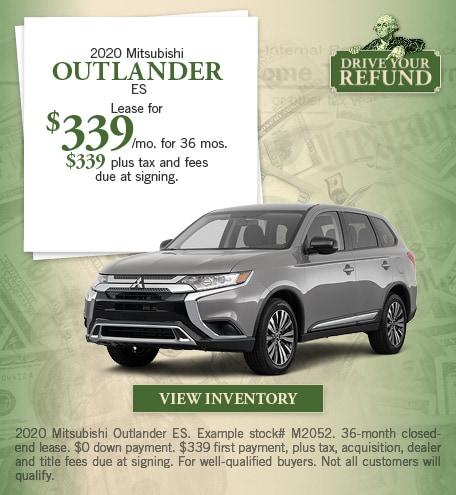 Mitsubishi Outlander ES Special Offer