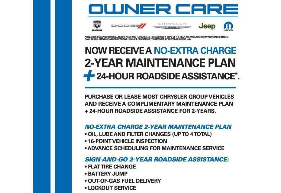 Free Year Maintenance Plan Owner Car Plan At Keffer Chrysler - Chrysler roadside assistance
