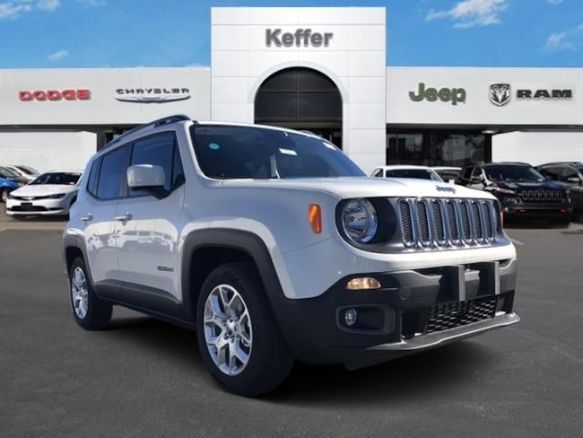 New 2018 Jeep Renegade LATITUDE 4X2 Sport Utility In Charlotte