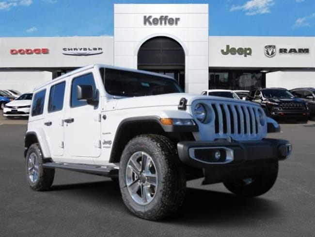 New 2018 Jeep Wrangler UNLIMITED SAHARA 4X4 Sport Utility In Charlotte