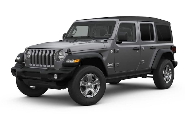 New 2019 Jeep Wrangler UNLIMITED SPORT S 4X4 Sport Utility In Charlotte