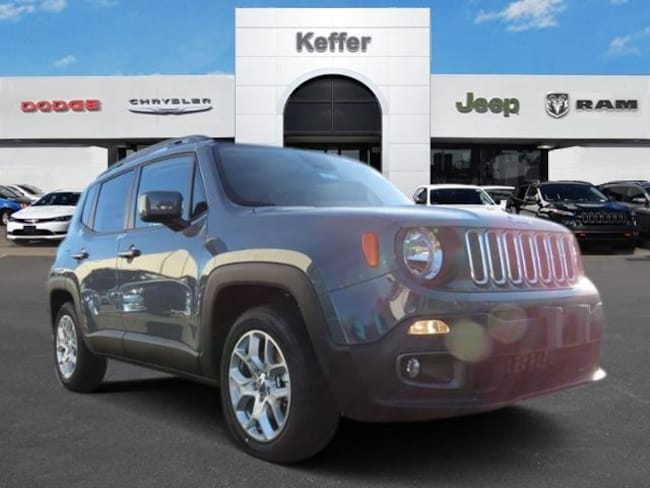 New 2018 Jeep Renegade LATITUDE 4X2 Sport Utility In Charlotte