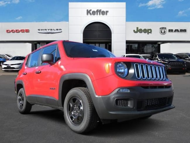 New 2018 Jeep Renegade SPORT 4X4 Sport Utility In Charlotte