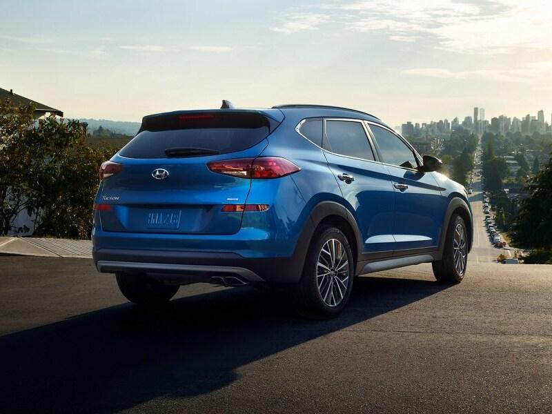 Drive the popular 2021 Hyundai Tucson near South Charlotte NC