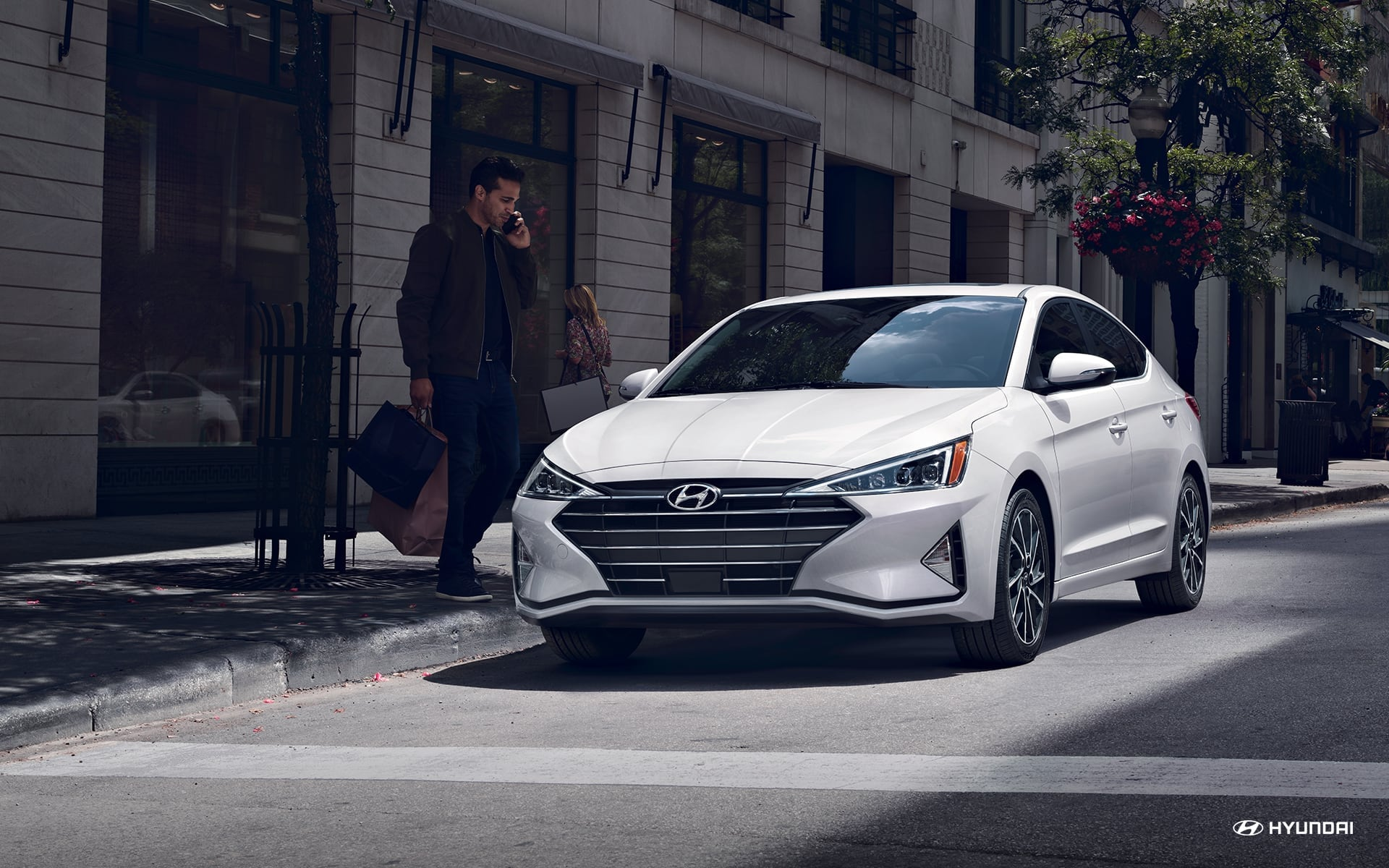 Test drive the 2020 Hyundai Elantra in Matthews NC