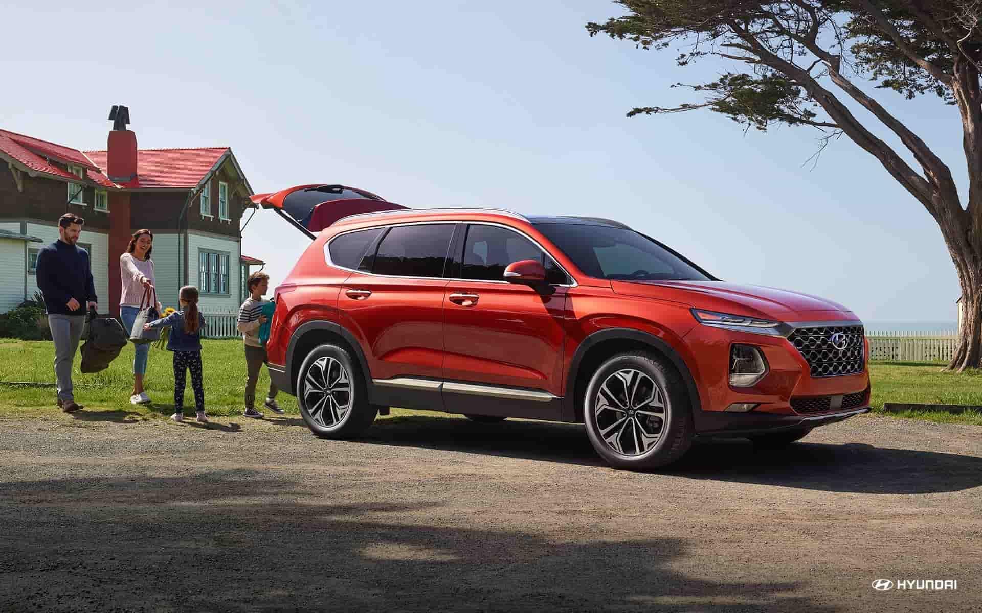 Research the 2020 Hyundai Santa Fe near Charlotte NC
