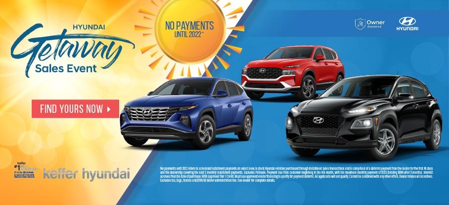 Matthews NC Hyundai Getaway Sales Event
