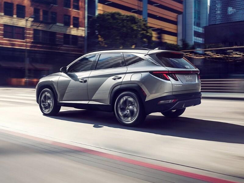 Explore new 2022 Hyundai Tucson features near Charlotte NC