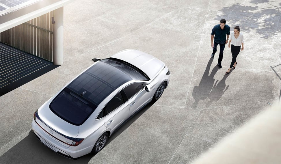 What's new with the 2020 Hyundai Sonata Hybrid near Fort Mill SC