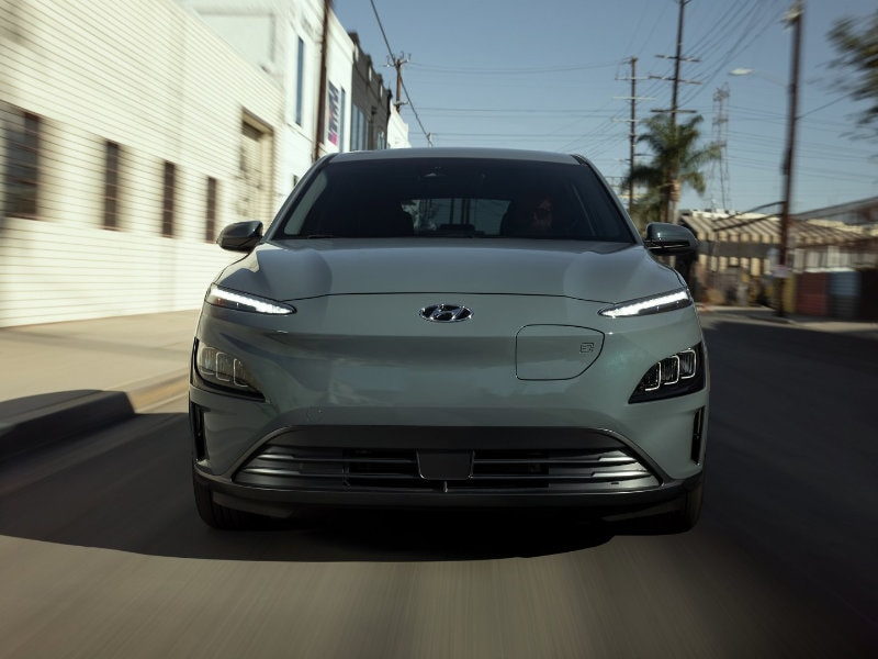 The 2022 Hyundai Kona Electric is perfect for drivers near near Fort Mill SC