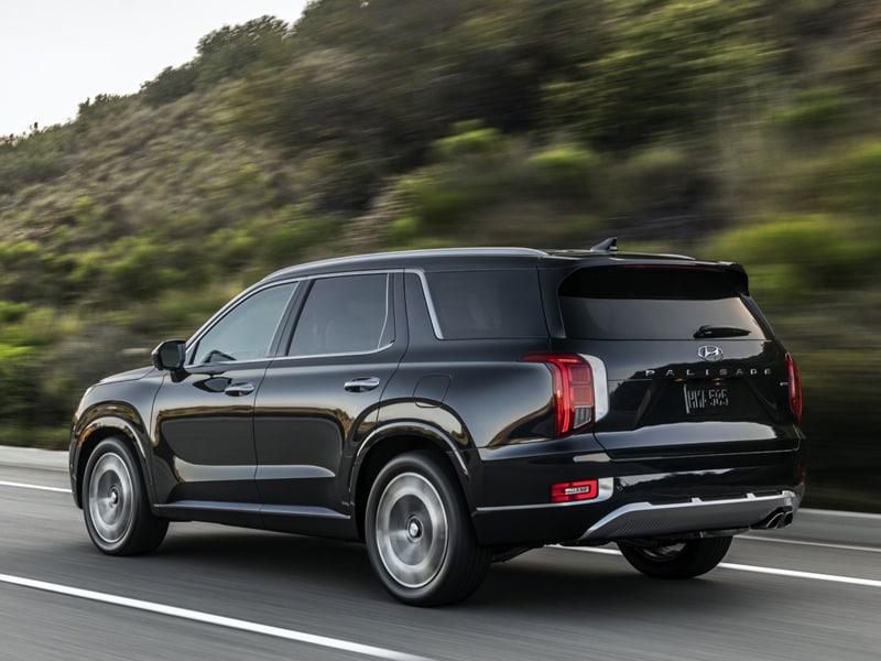A 2021 Hyundai Palisade provides upscale elegance near Fort Mill SC