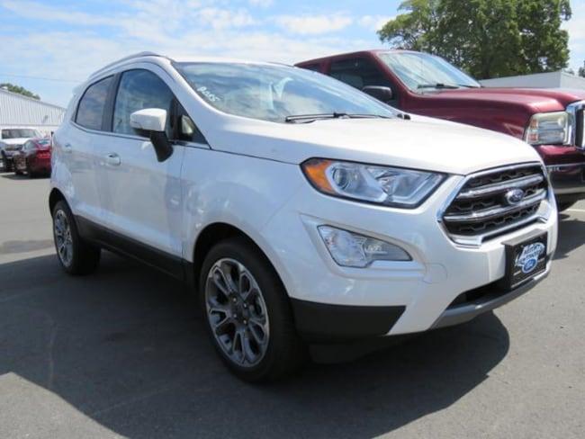 New 2019 Ford EcoSport Titanium SUV near Belmont