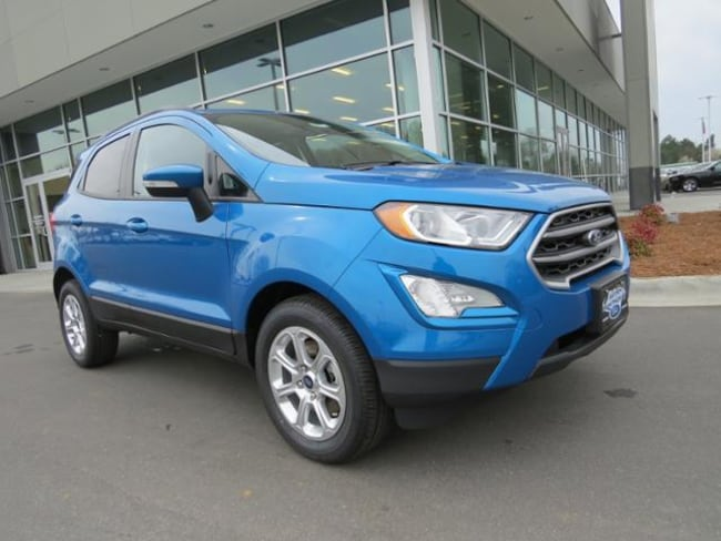New 2019 Ford EcoSport SE SUV Belmont