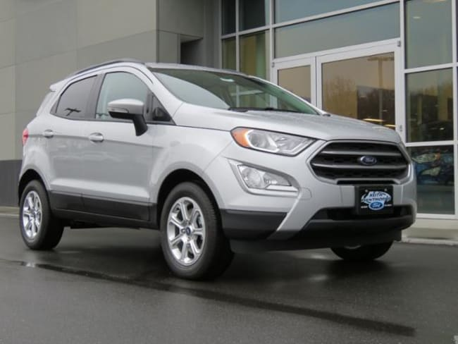 New 2019 Ford EcoSport SE SUV Belmont