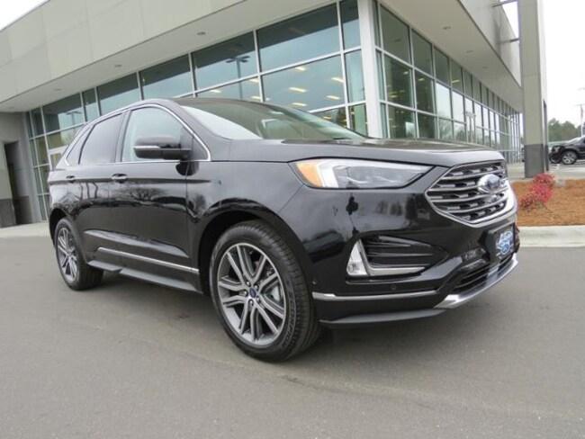 New 2019 Ford Edge Titanium SUV Belmont