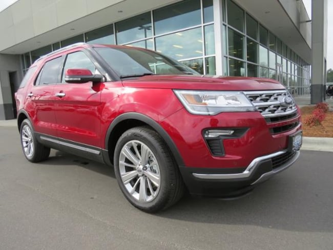 New 2019 Ford Explorer Limited SUV Belmont