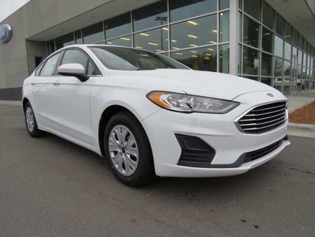 New 2019 Ford Fusion S Sedan Belmont