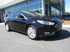 New 2018 Ford Focus Titanium Sedan for Sale near Charlotte, NC, at Keith Hawthorne Ford of Belmont