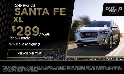 April | 2019 Hyundai Santa Fe XL