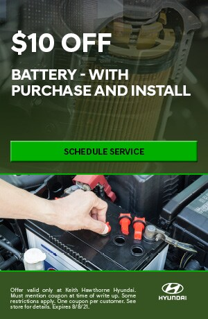 Battery - With Purchase & Install