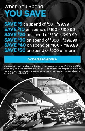 When you spend, you save!