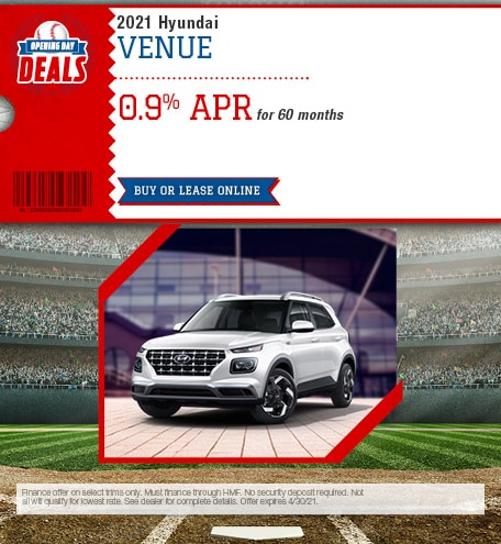 April 2021 Hyundai Venue