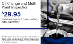 Oil change and Multi point inspection