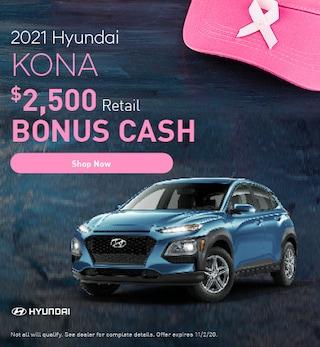 October 2020 Hyundai Kona