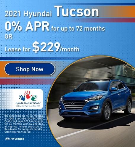 September 2021 Hyundai Tucson