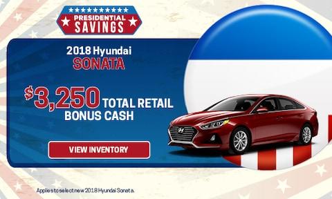 New 2018 Hyundai Sonata Bonus Cash