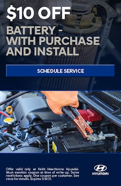 Battery Purchase and Install