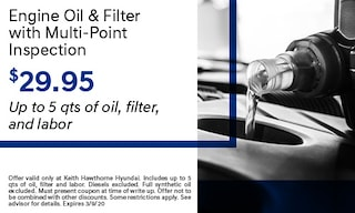 Engine Oil with Multi Point Inspection