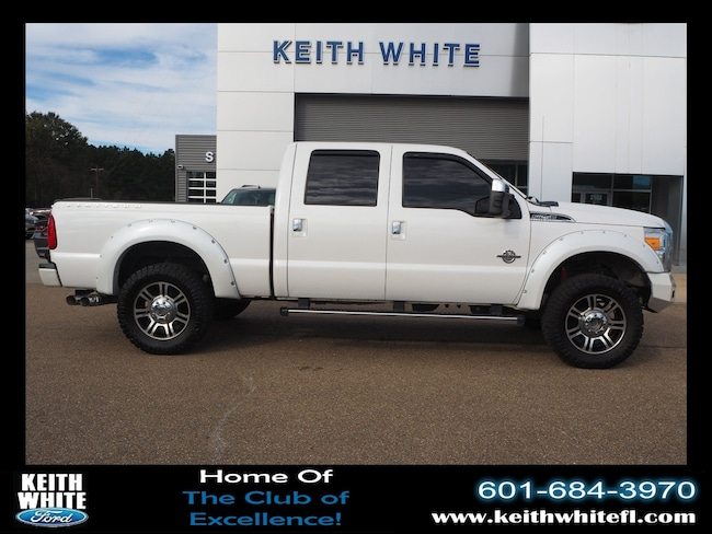 Used 2016 Ford F-250 Platinum 4wd Truck Crew Cab For Sale McComb MS