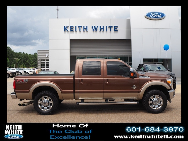 Used 2012 Ford F-250 Lariat Truck Crew Cab For Sale McComb MS