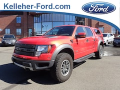 2011 Ford F-150 SVT Raptor Crew Cab Short Bed Truck