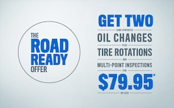$79.95 Road Ready Offer