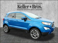 New 2019 Ford EcoSport Titanium SUV MAJ6S3KL9KC279498 for sale in Lebanon, PA