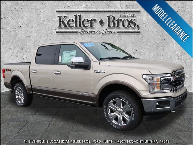 New 2018 Ford F-150 Lariat Truck SuperCrew Cab for sale in Lititz, PA
