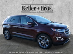 Certified Pre-Owned 2015 Ford Edge Titanium SUV 2FMTK4K85FBB71623 for Sale in Lititz, PA