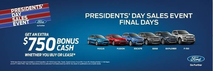 Presidents Day Car Sales 2017 >> Presidents Day Sales Event Keller Bros Ford Lititz